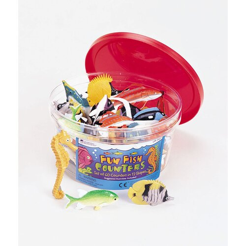 Learning Resources Fish Counters 60 Piece Set