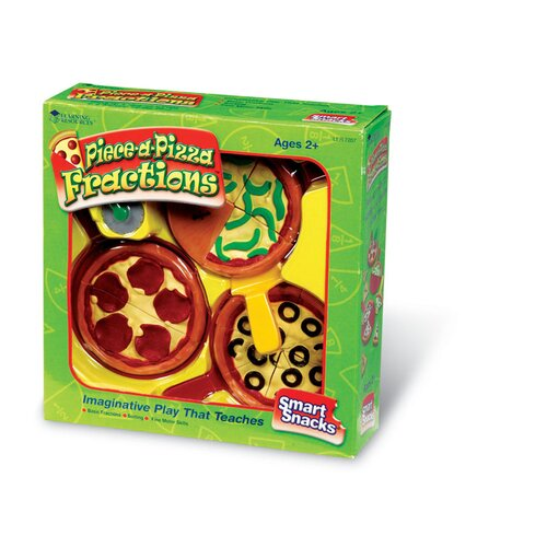 Smart Snacks 17 Piece-A-Pizza Fractions Set