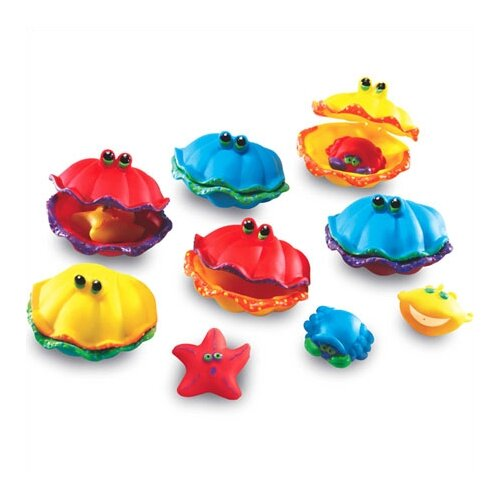 Learning Resources Smart Splash Memory Match Clams 12 Piece Set