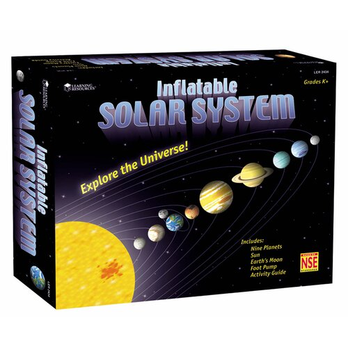 Inflatable Solar System 11 Piece Set