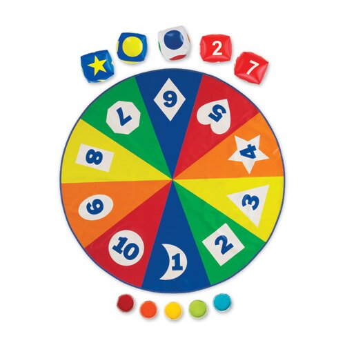 Learning Resources All Around Learning Circle Time Activity 282 Piece Set