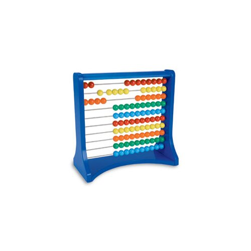 Learning Resources Ten - Row Desktop Abacus