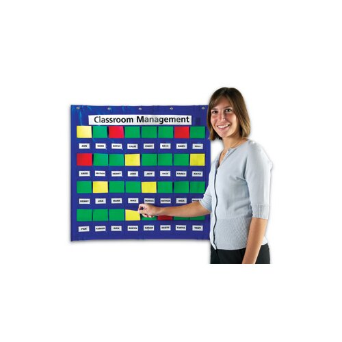 Learning Resources Junior Organization Station Pocket Chart