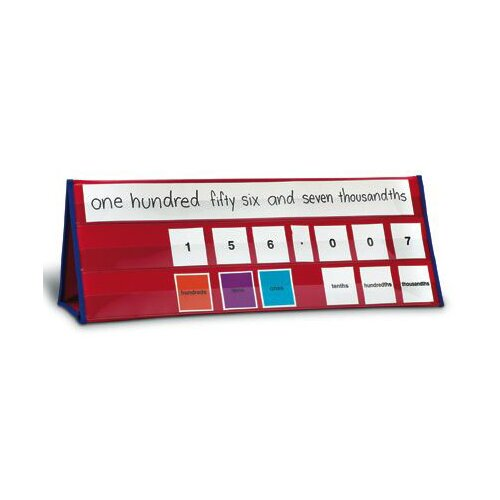 Learning Resources Place Value Tabletop Pocket Chart