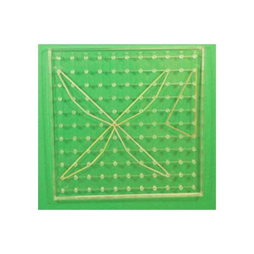 Learning Resources Geoboard 11 X 11 Transparent 9