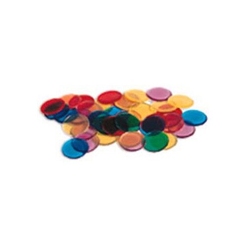 Learning Resources Transparent Counters 250 Piece Set