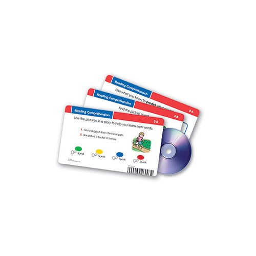 Learning Resources Reading Comprehension CD Card 41 Piece Set