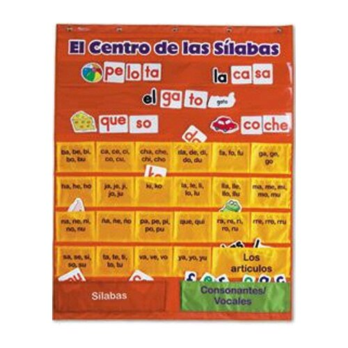 Learning Resources Spanish Syllables Pc W/ Cards