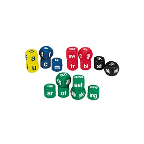 Learning Resources Phonics Cubes Class Pk Set 1 Each
