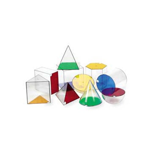 Learning Resources Giant Geosolids 10 Piece Set