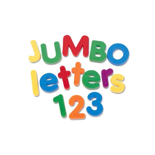 Learning Resources Jumbo Magnetic Numbers 36 Piece Pack