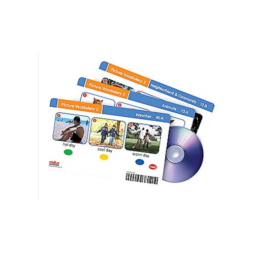 Learning Resources Radius Picture Vocabulary CD Card