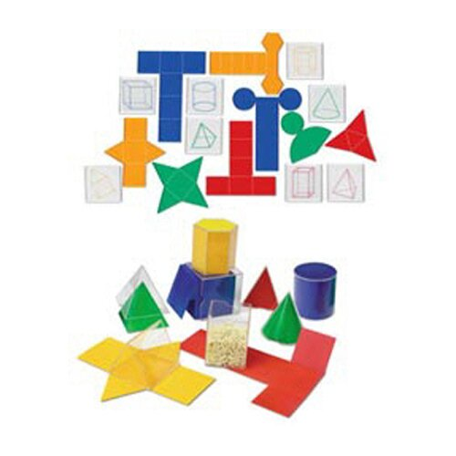 Learning Resources Folding Geometric Shapes 32/set