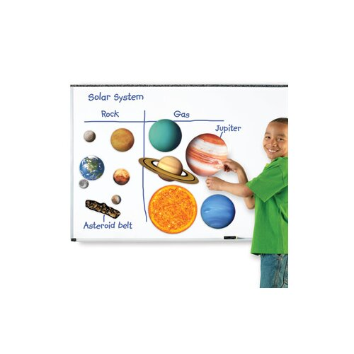 Learning Resources Giant Magnetic Solar System 12 Piece Set