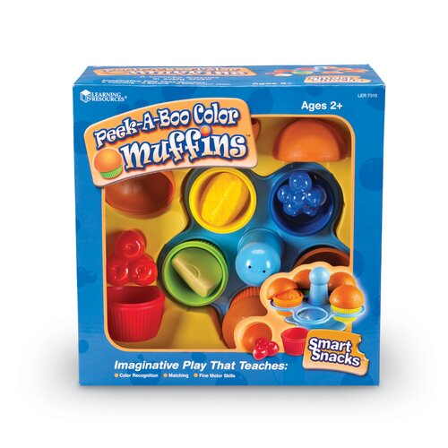 Learning Resources Peek-a-Boo Muffin Set