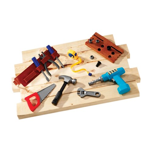Pretend and Play Work Belt Tool Set 20 Piece Set