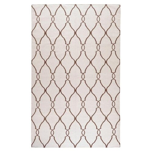Jill Rosenwald Rugs Fallon Ivory/Golden Brown Rug