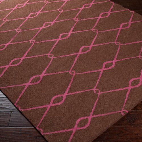 Jill Rosenwald Rugs Fallon Dark Chocolate Rug