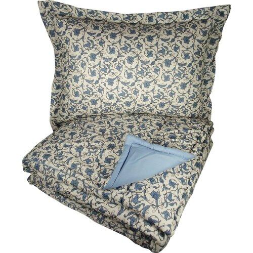 Micro Flannel® Jacobean Floral Comforter Set