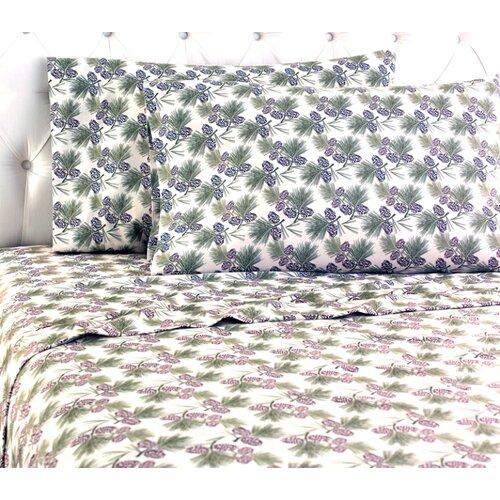Micro Flannel® Pinecone Sheet Set
