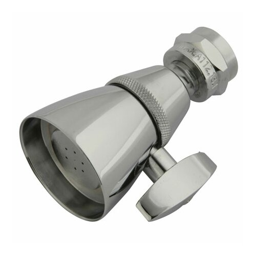 Elements of Design Hot Springs Adjustable Volume Control Shower Head