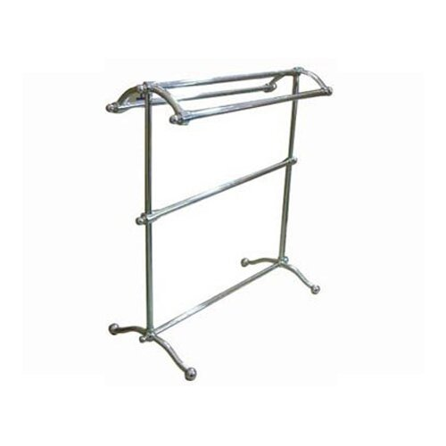 Elements of Design Vintage Free Standing Pedestal Towel Rack