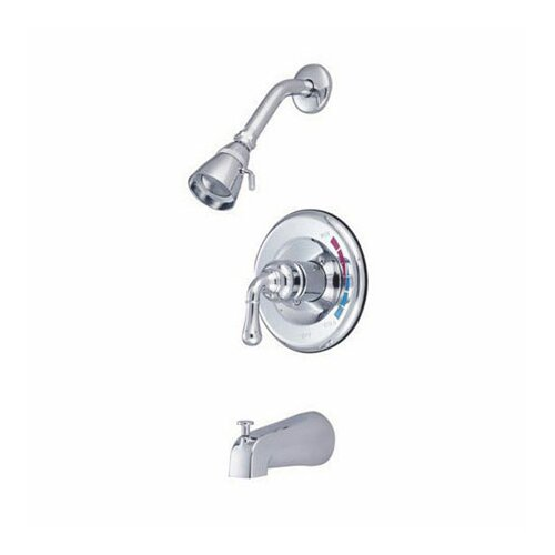 Elements of Design St. Charles Volume Control Tub and Shower Faucet Trim