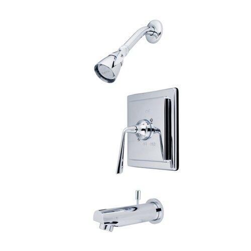 Elements of Design Copenhagen Tub and Shower Faucet Trim
