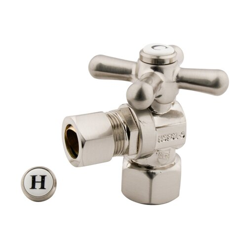 Elements of Design Decorative Quarter Turn Valves with Cross Handles