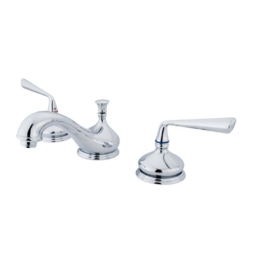 Elements of Design Copenhagen Double Handle Widespread Bathroom Faucet