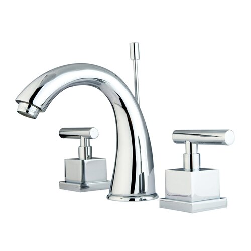 Elements of Design Rio Double Handle Widespread Bathroom Faucet with Pop-up
