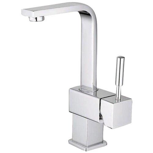 South Beach Single Handle Centerset Bathroom Faucet with Push-Up Pop-Up Drain