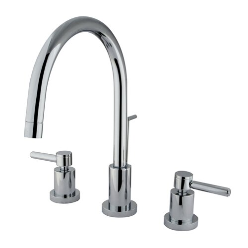 Elements of Design South Beach Double Handle Mini-Widespread Bathroom Faucet