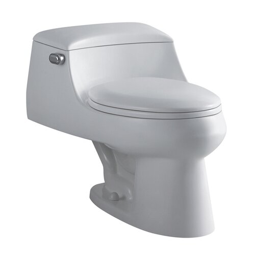 Congress Elongated 1 Piece Toilet