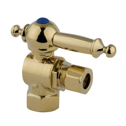 "Elements of Design 1.75"" x 2.75"" Decorative Quarter Turn Valves"