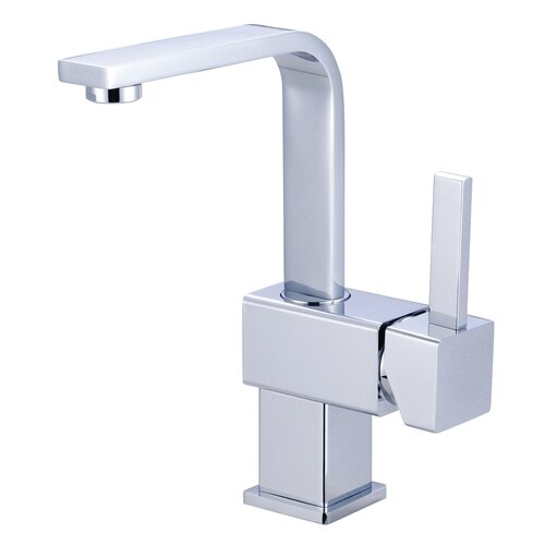 Elements of Design Claremont Single Handle Bathroom Faucet with Push Up Drain