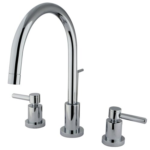 Concord Double Handle Single Hole Widespread Bathroom Faucet