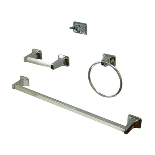 Elements of Design American 4 Piece Bathroom Hardware Set