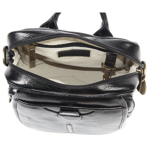 Claire Chase Classic Italian Man Shoulder Bag