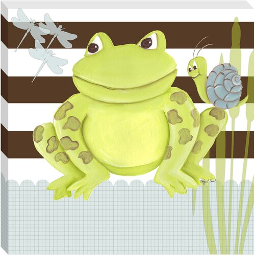 Frog Giclee Canvas Art