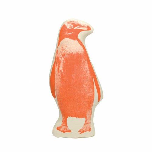 Fauna Picos Organic Cotton Penguin Pillow