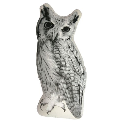 Fauna Large Organic Cotton Owl Cushion