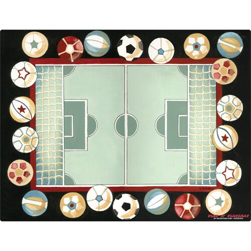 Magic Slice Soccer Field Play Placemat