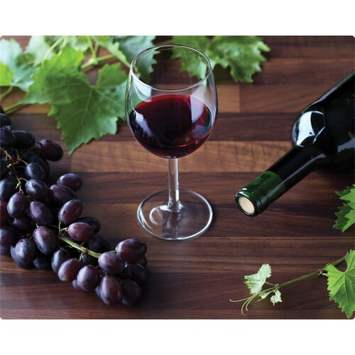 Magic Slice Zin with Grapes Cutting Board