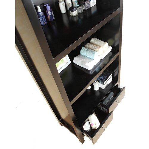 Virtu Barnum 2 Drawer Vanity Side Cabinet