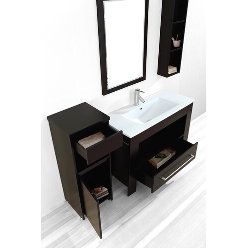"""Virtu Masselin 39.4"""" Single Bathroom Vanity Set"""