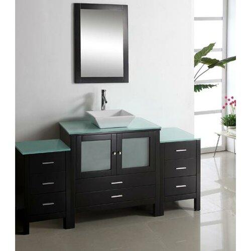 """Virtu Brentford 71"""" Single Bathroom Vanity Set"""