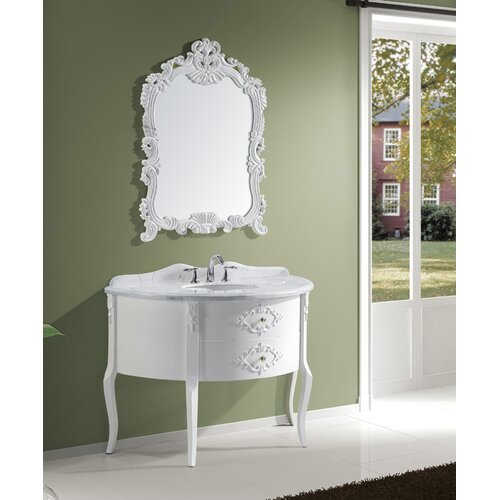 "Virtu Abigail 47.25"" Single Sink Bathroom Vanity Set"