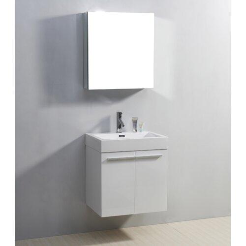 """Virtu Midori 23.2"""" Single Bathroom Vanity Set"""