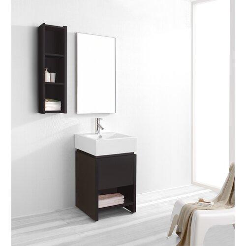 """Virtu Curtice 19.7"""" Single Bathroom Vanity Set"""